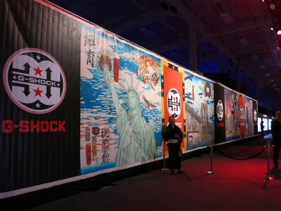 "G-SHOCK ""SHOCK THE WORLD 2013″ NEW YORK"