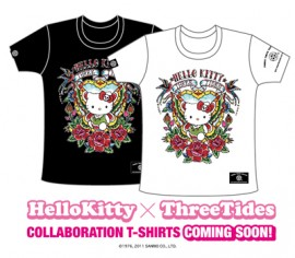 HelloKitty x ThreeTides T-SHIRTS