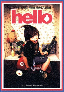 "HYSTERIC MINI MAGAZINE ""hello"" 2011 SUMMER"