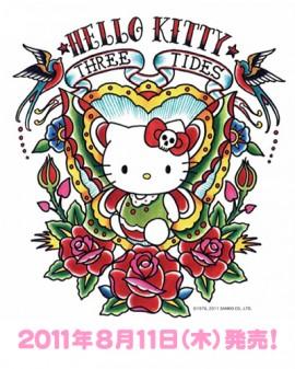 HelloKitty x ThreeTides T-SHIRTS発売日決定!