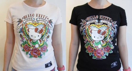 HelloKitty x ThreeTides T-SHIRTS発売!