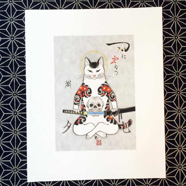 9-Monmon_Samurai_Cat