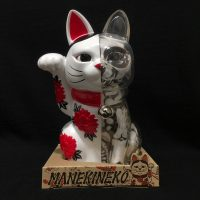 LUCKY CAT X-RAY FULL COLOR WHITE