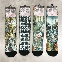 "THREE TIDES TATTOO x UBIQ ""IREZUMI"" SOCKS 6"