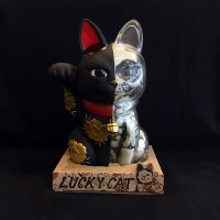 LUCKY CAT X-RAY FULL COLOR MATTE BLACK GOLD
