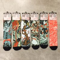 "THREE TIDES TATTOO x UBIQ ""IREZUMI"" SOCKS 7"
