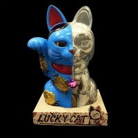 LUCKY CAT X-RAY FULL COLOR BLUE