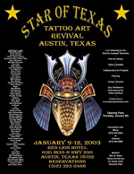 Star of Texas Tattoo Art Revival 2003