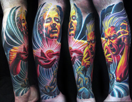 First off, I need to say this: Adrian Lee is a phenomenal tattoo artist.